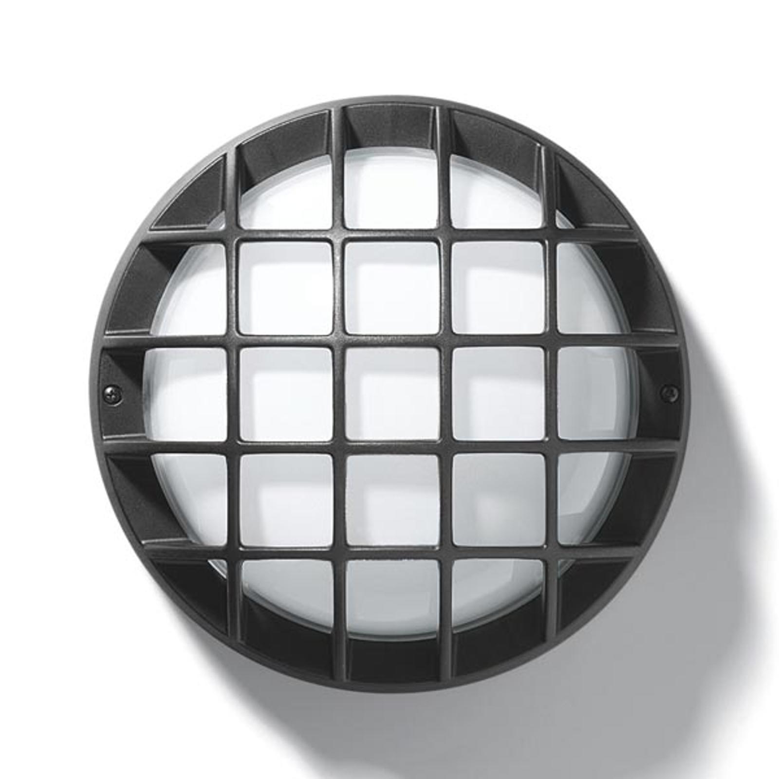 Buitenwand- of plafondlamp EKO 21-G, antraciet