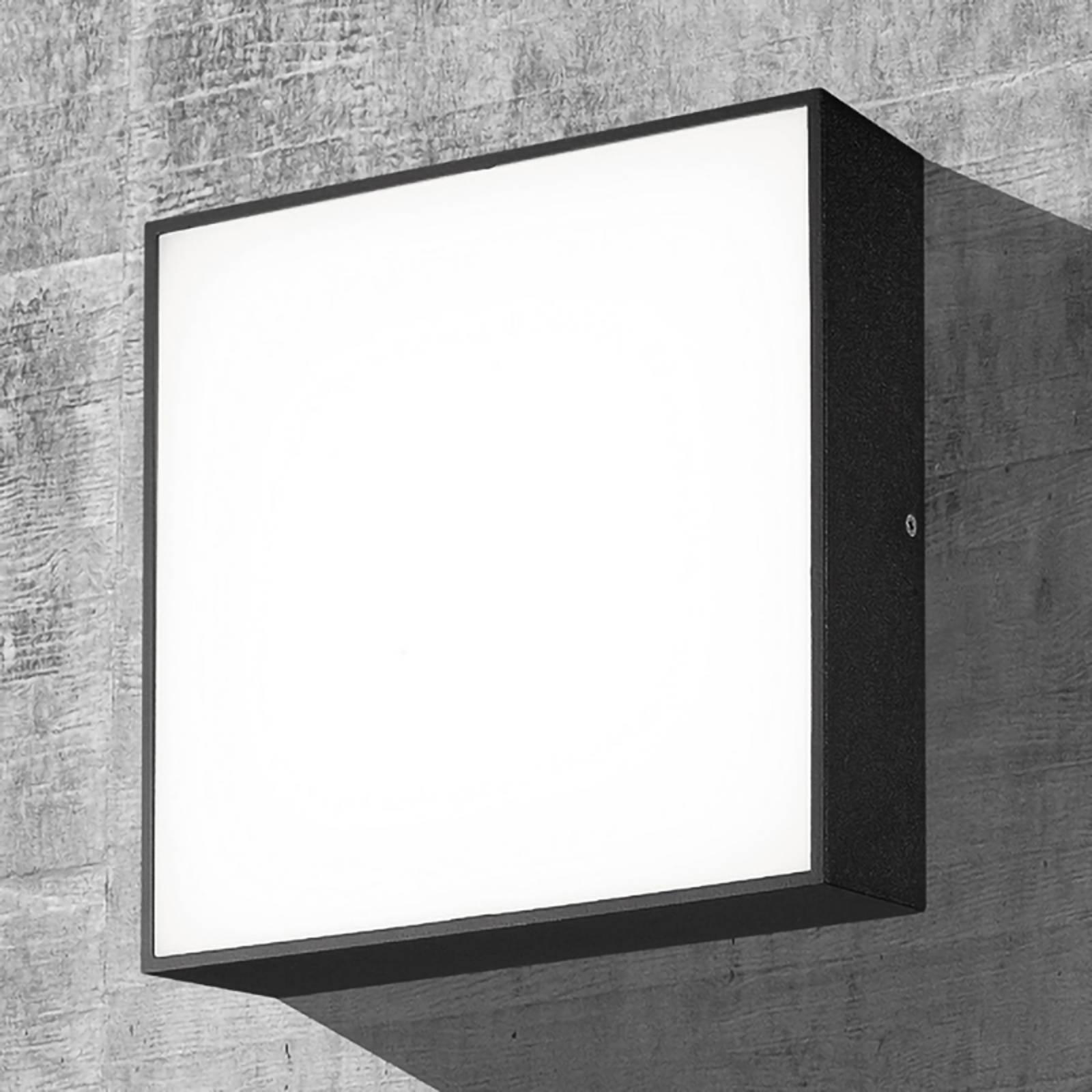 LED-Außenwandleuchte CMD 9024, 24 x 24 cm