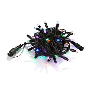 Lichtketting Chrissline extra 50 LEDs meerkleurig