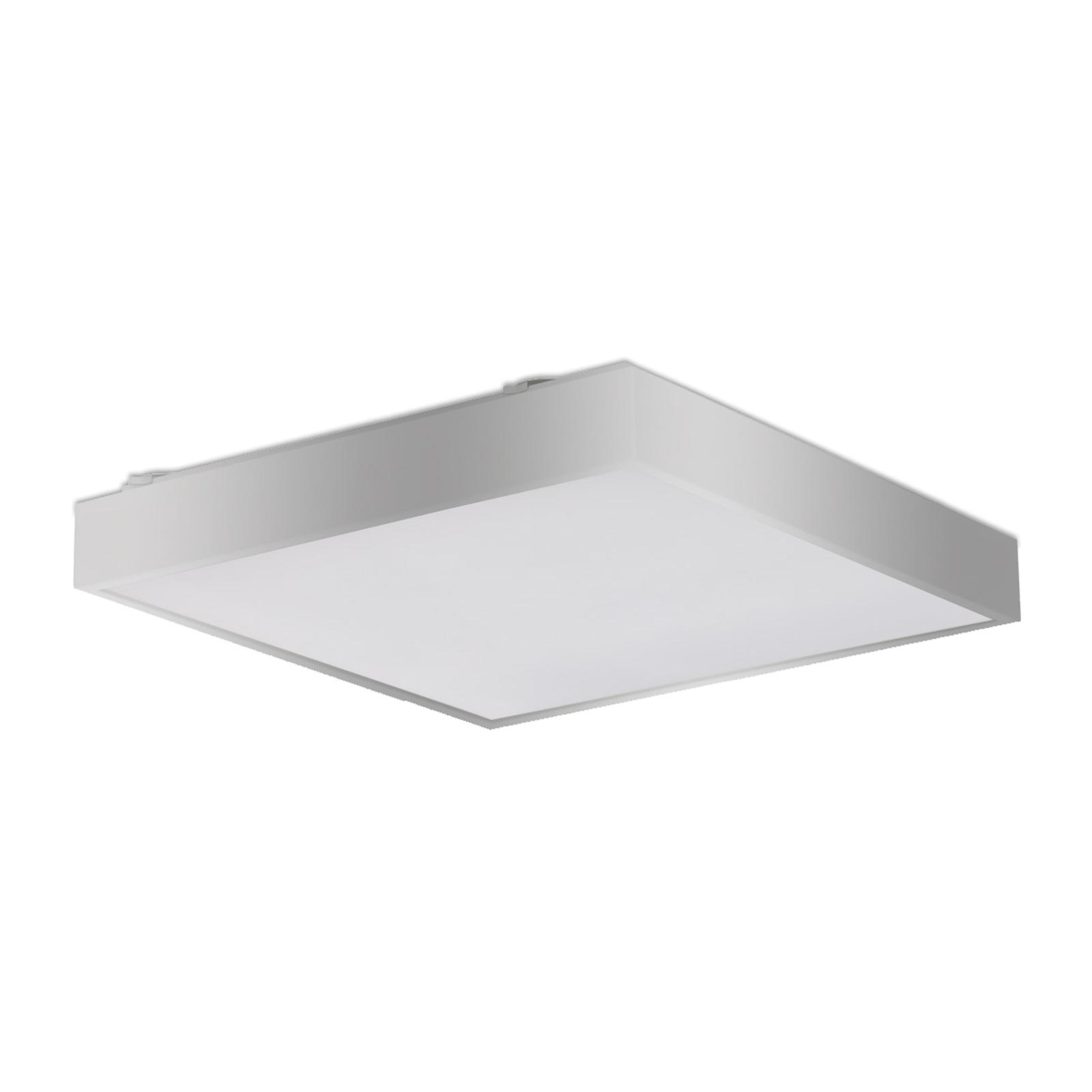 Led-plafondlamp Q5, zilverkleurig, EVA