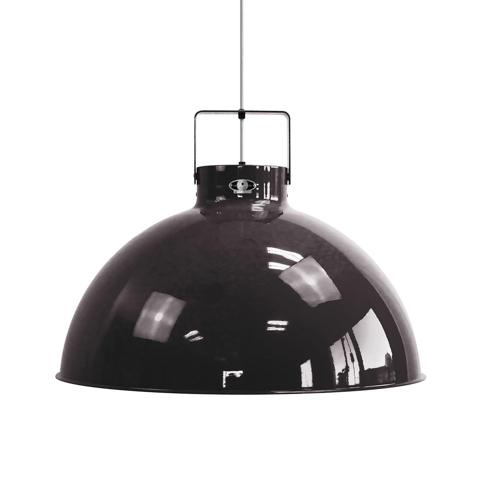 Jieldé Dante D675 hanglamp, zwart, Ø 67,5 cm