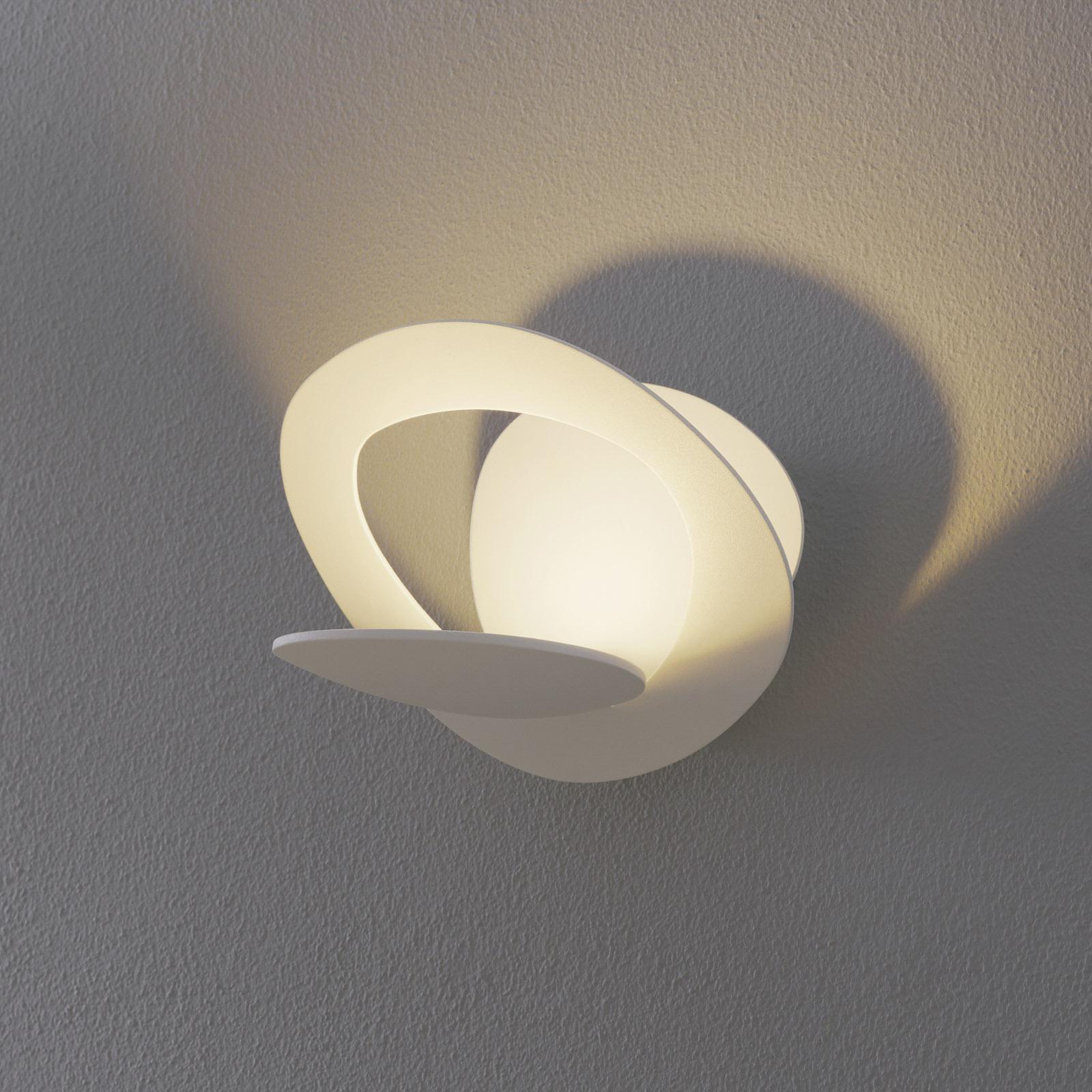 Pirce Micro – valkoinen LED-seinävalaisin, 3000 K