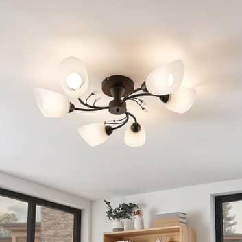 Lindby Amgad lampa sufitowa, 6-punktowa