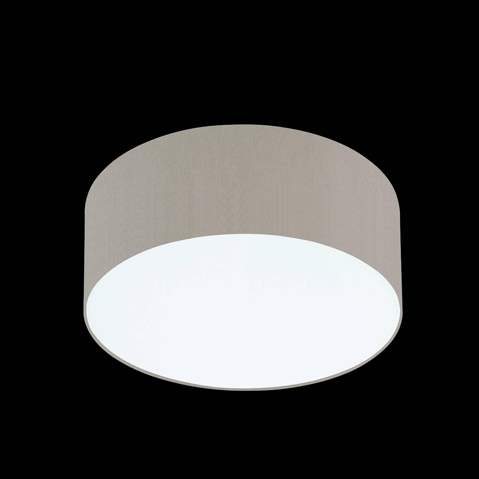 Melangebruine plafondlamp Mara, 40 cm