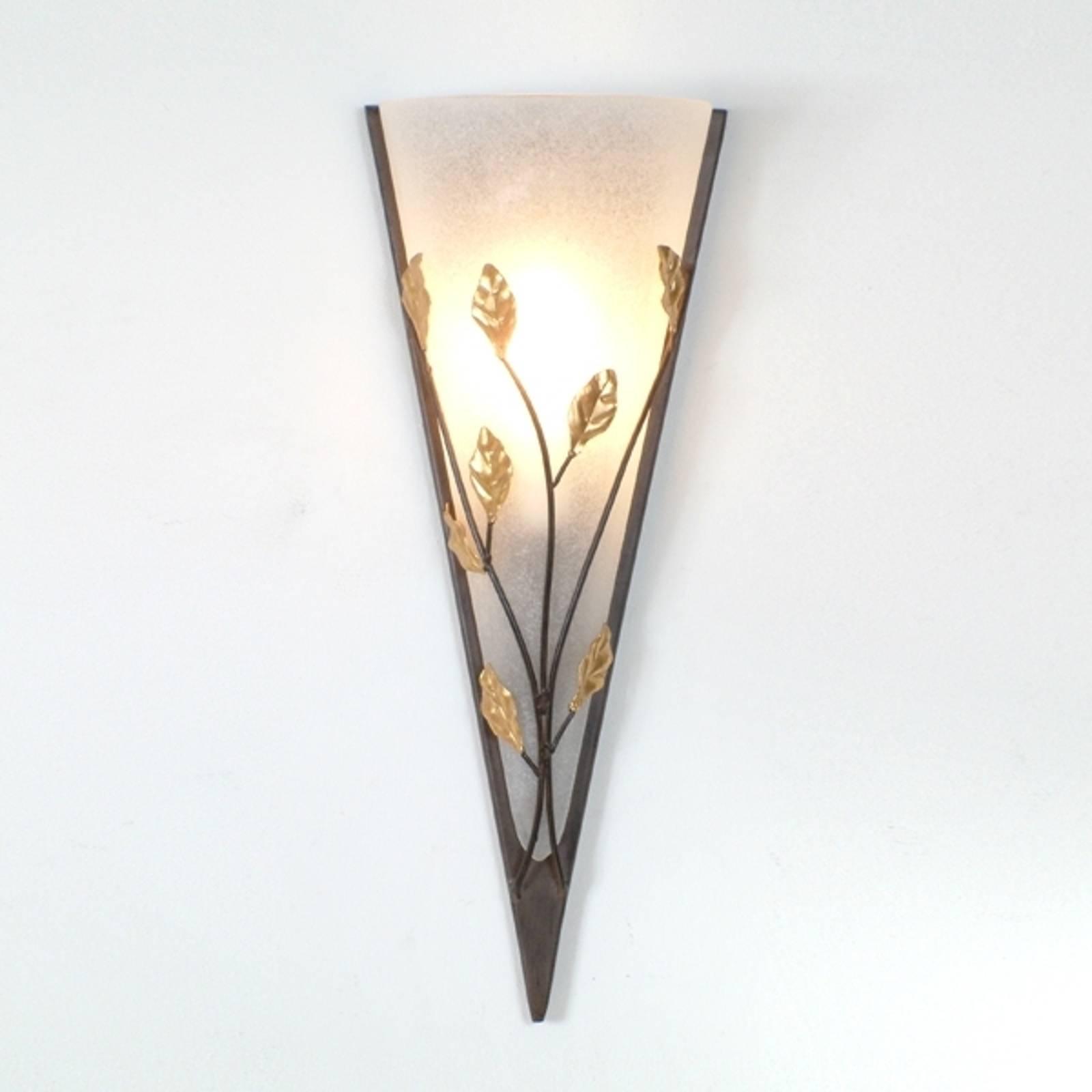 Kunstige wandlamp FOGLIA