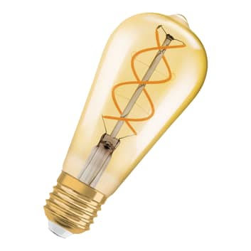 OSRAM LED-Lampe E27 5W 2.000K Vintage Edison gold