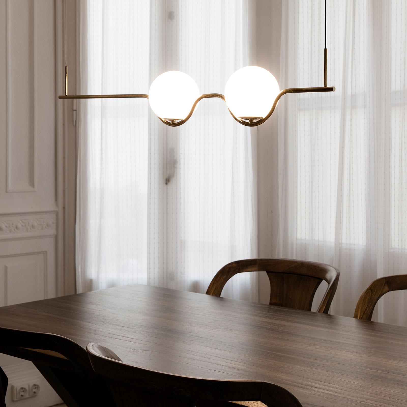 Acquista Lampada Sospensione Di Design Le Vita Led 2 Luci Lampade It