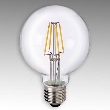 E27 4,5 W 827 LED-globepære G80 klar