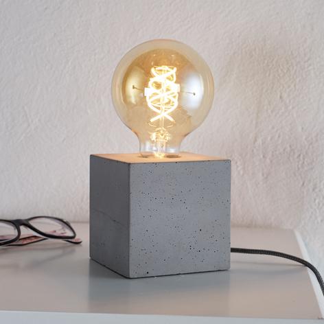 Lampe à poser Strong moderne en béton