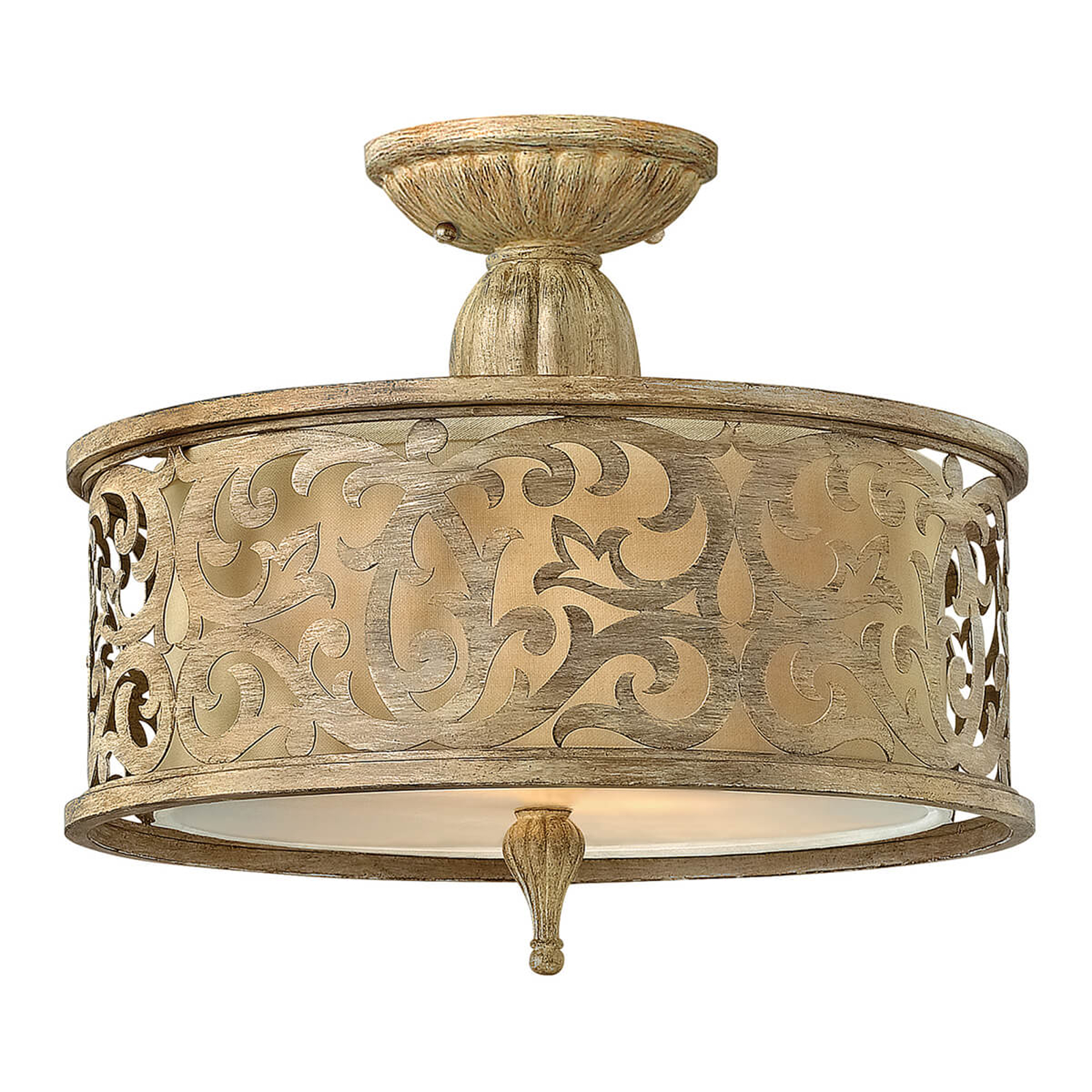 Imponująca lampa sufitowa Carabel