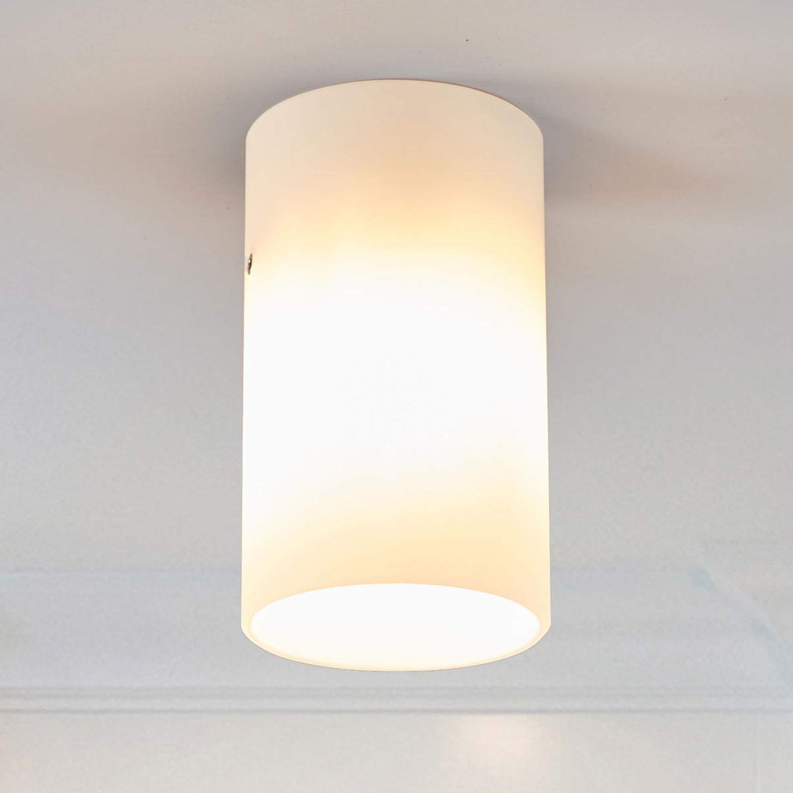 Rund loftlampe Tube