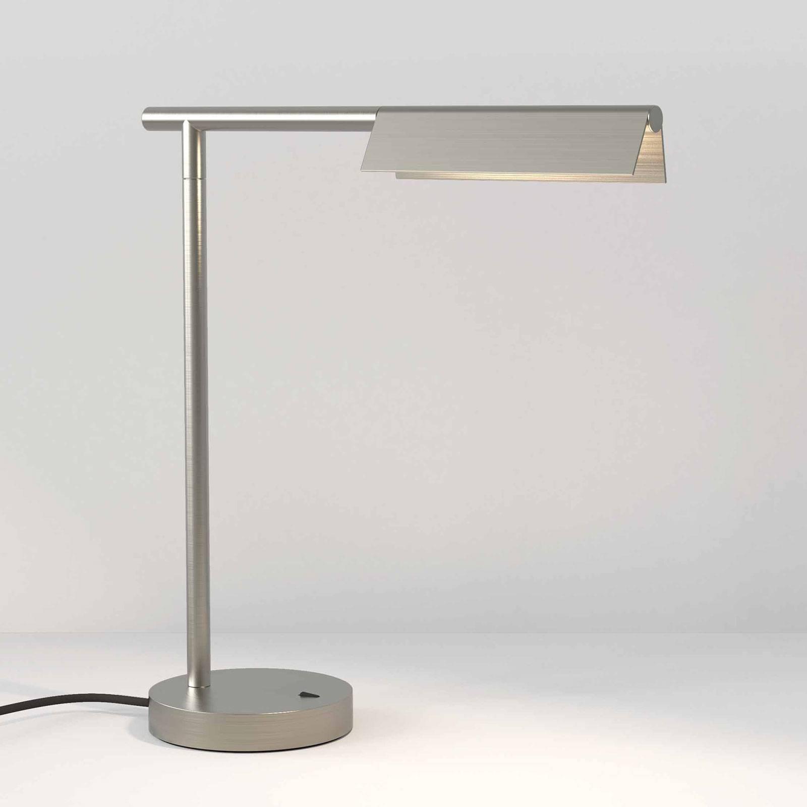 Astro Fold LED-Tischleuchte nickel matt