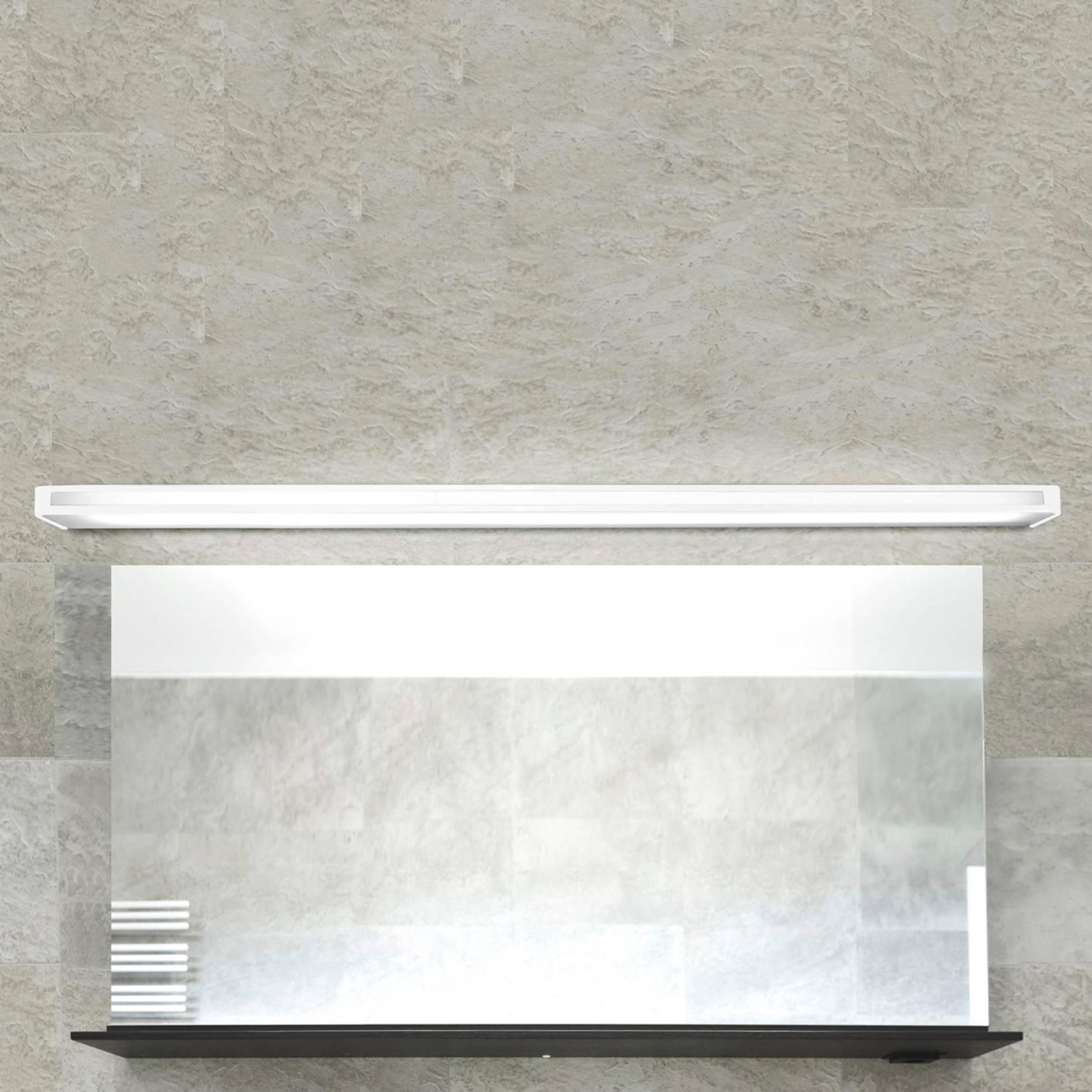 Tijdloze LED wandlamp Arcos, IP20 150 cm, wit