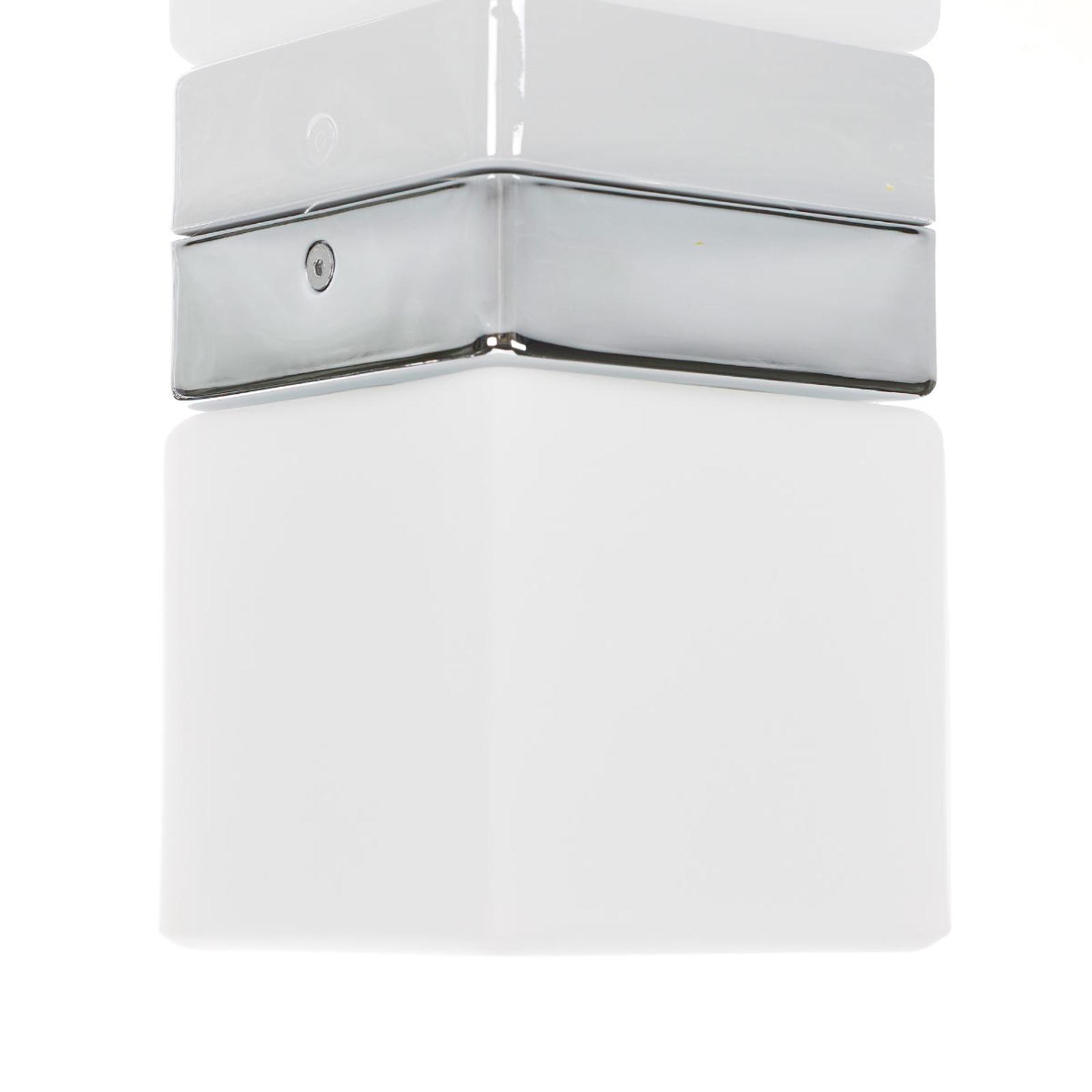 Produktové foto Helestra Helestra Keto stropní LED světlo, koupelny krychle