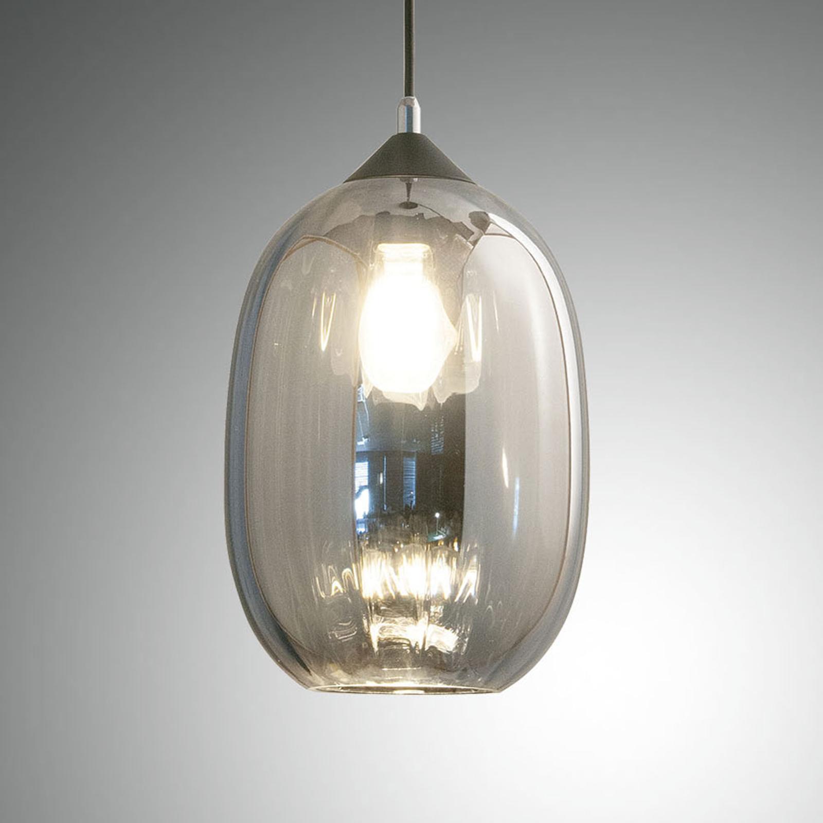 Suspension Infinity en verre, à 1 lampe, Ø 20cm