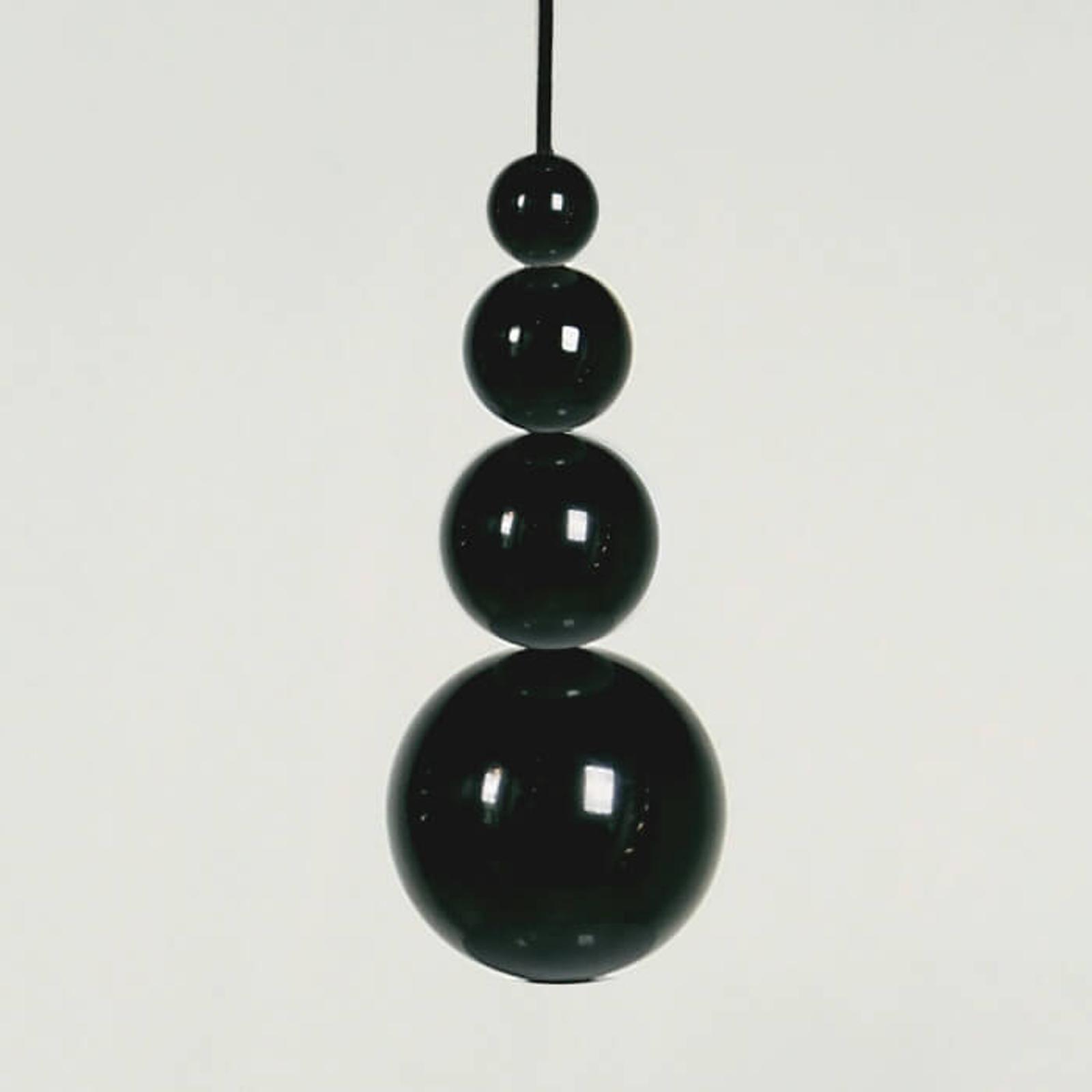 Innermost Bubble - Hängeleuchte in Schwarz