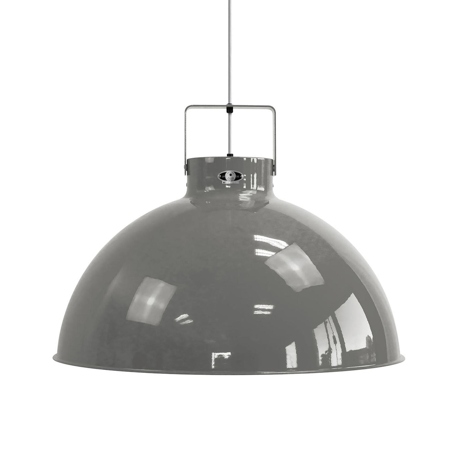 Jieldé Dante D675 lampa wisząca, szara, Ø 67,5 cm