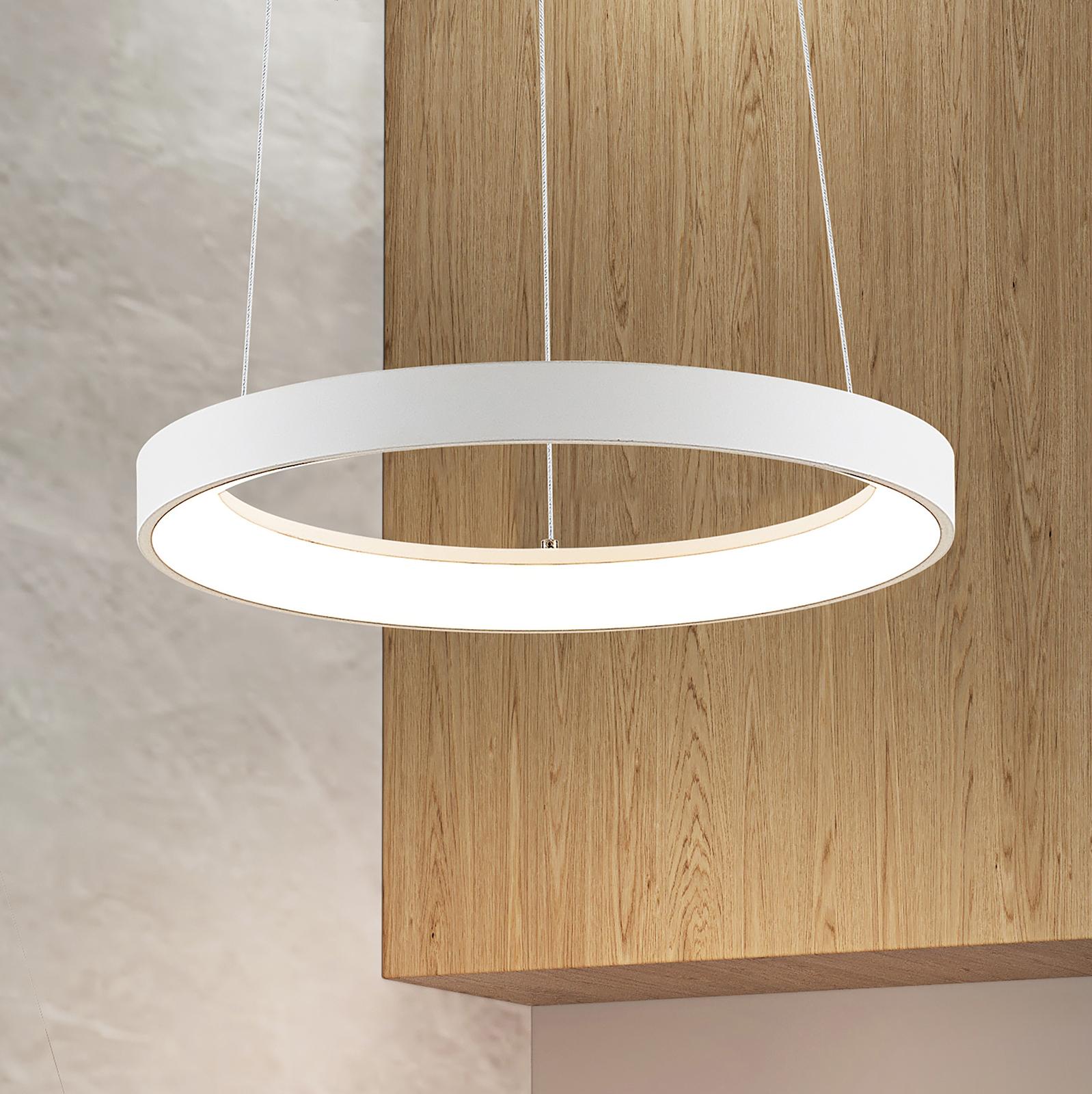 Arcchio Vivy LED-Hängeleuchte, weiß, 38 cm