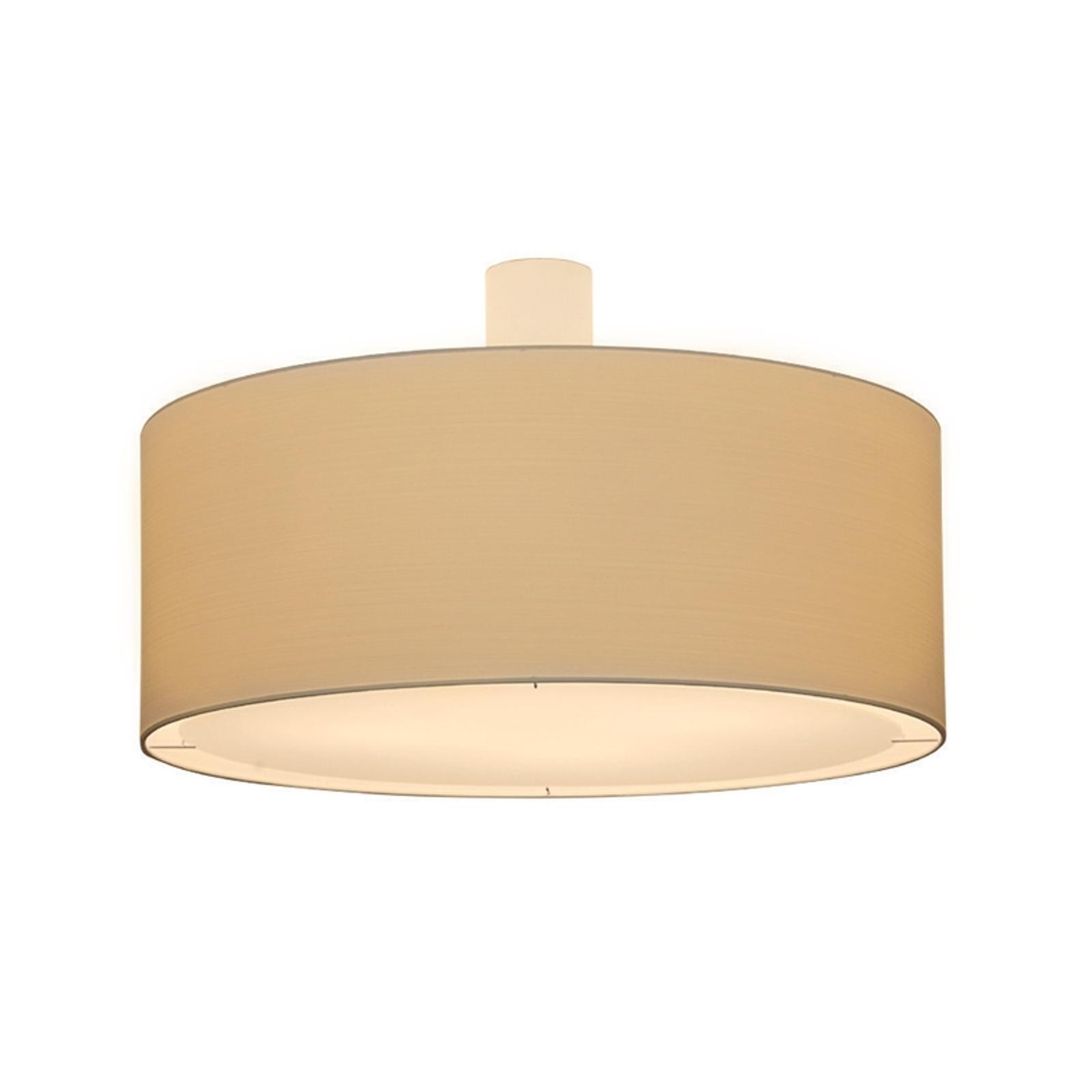 Kremfarget taklampe LIVING ELEGANT Ø 60 cm