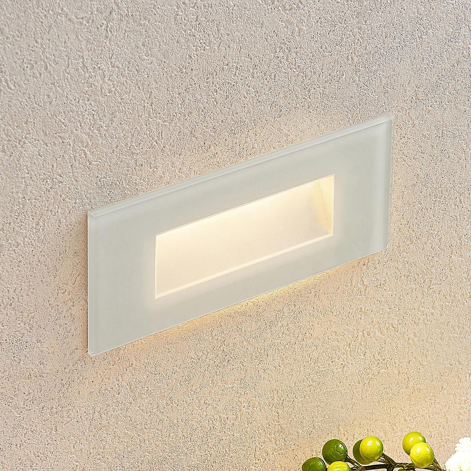 Oprawa wpuszczana ścienna LED Jody, 19 cm