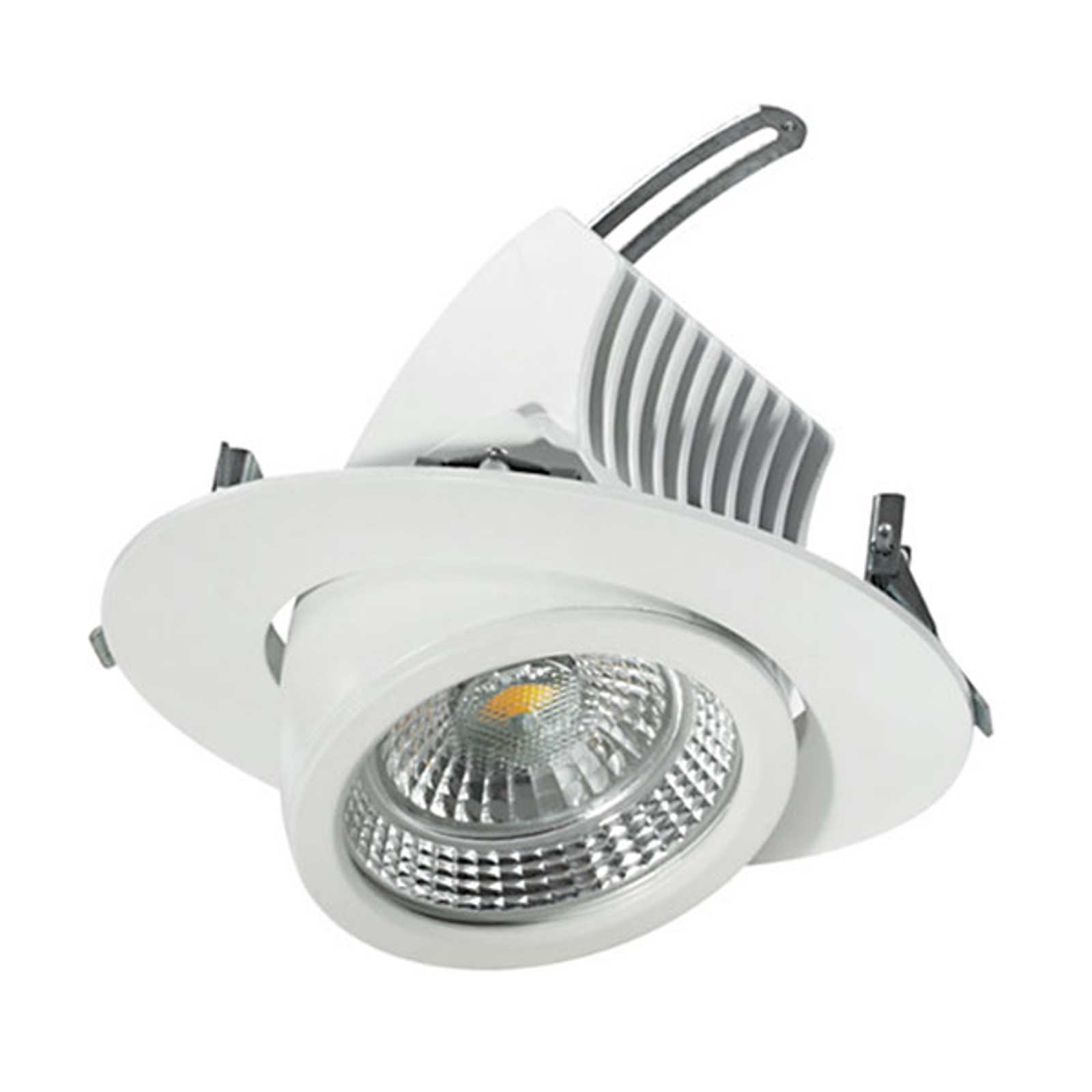 Spot encastrable LED pivotant 17 cm, 31 W