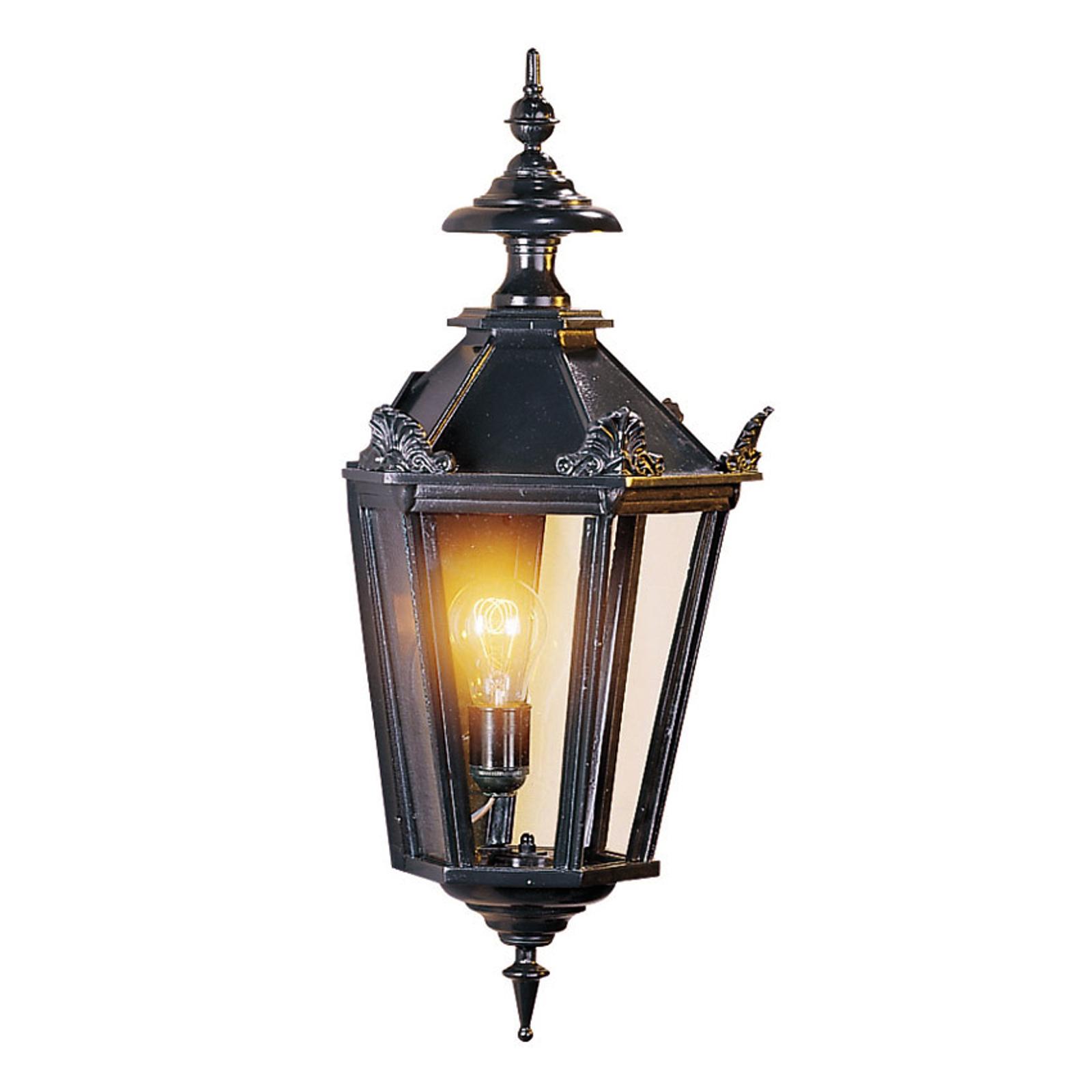 Buitenwandlamp Oxford, zwart