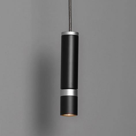 LDM Kyno Tavolo Uno LED sospensione, nero satinato