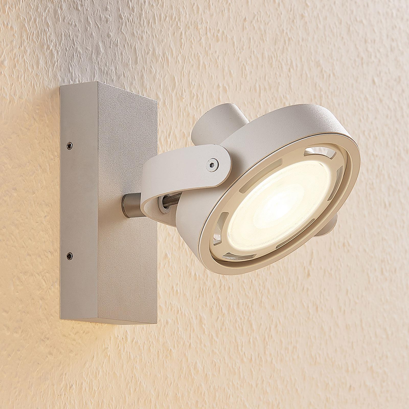 LED spot Munin, dimbaar, wit, 1-lamp