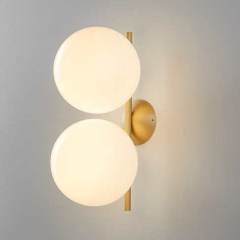 FLOS IC C/W Double wandlamp