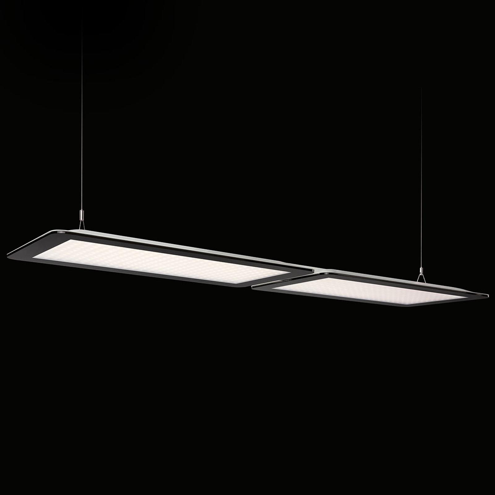 Podwójna lampa wisząca LED Dome-P-K2 dla biur