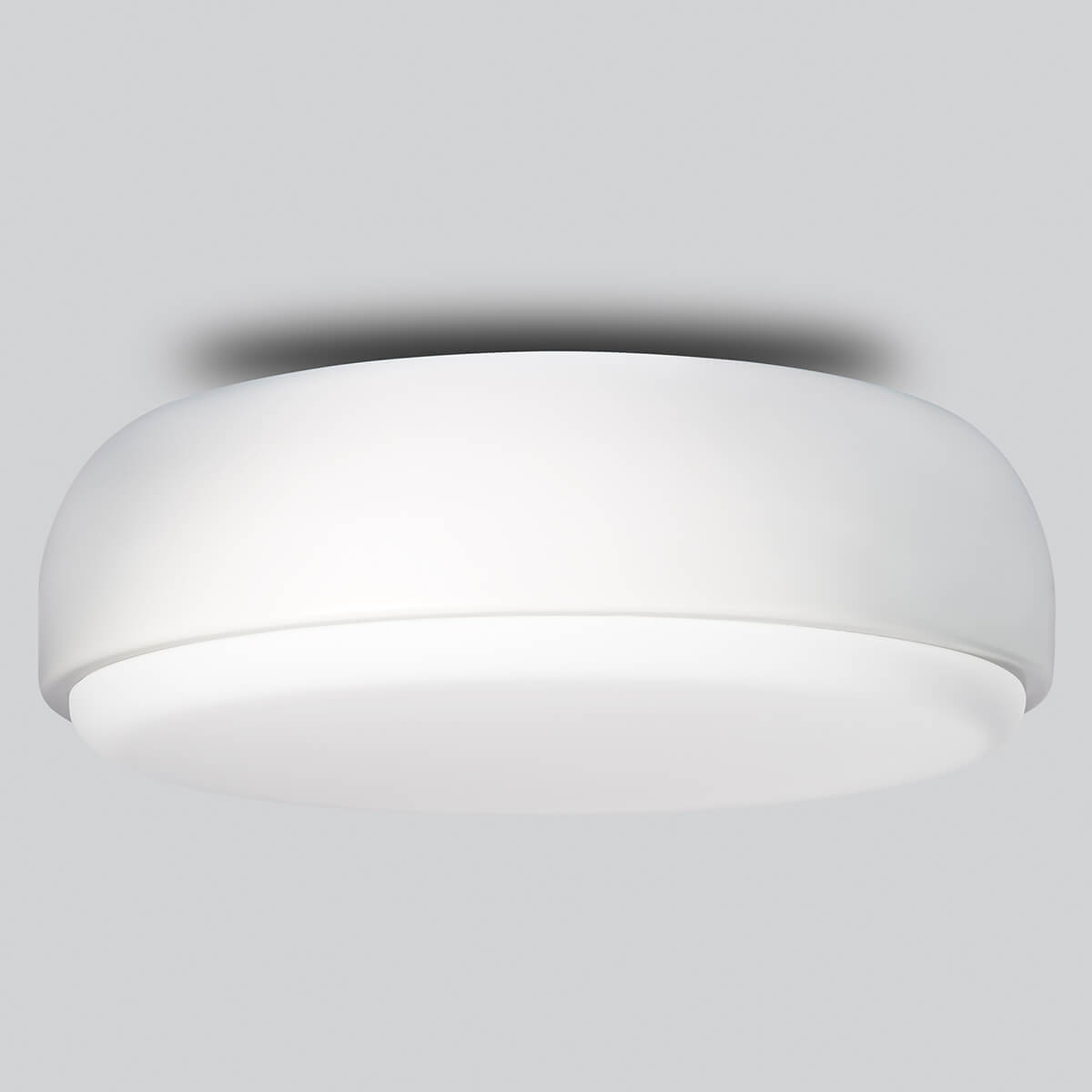 Witte design plafondlamp Over Me, 40 cm