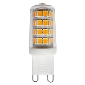 Ampoule à broche LED G9 3W 827, transparente