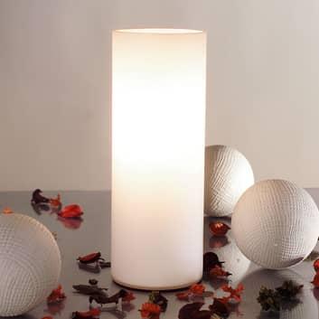 Paulmann Noora lampa stołowa ze szkła opalowego