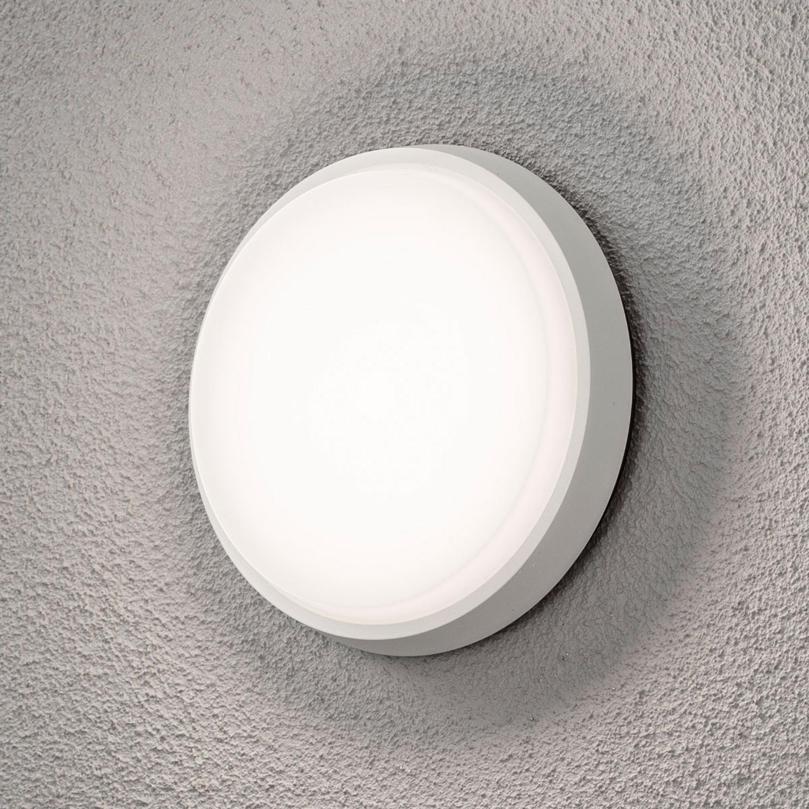 LED-Außenwandleuchte Cesena, rund