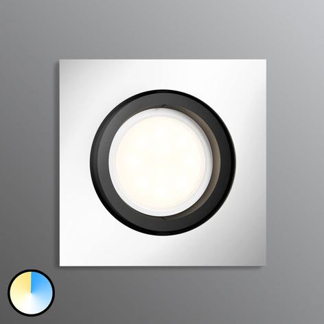 Philips Hue Milliskin spot LED angulaire, alu