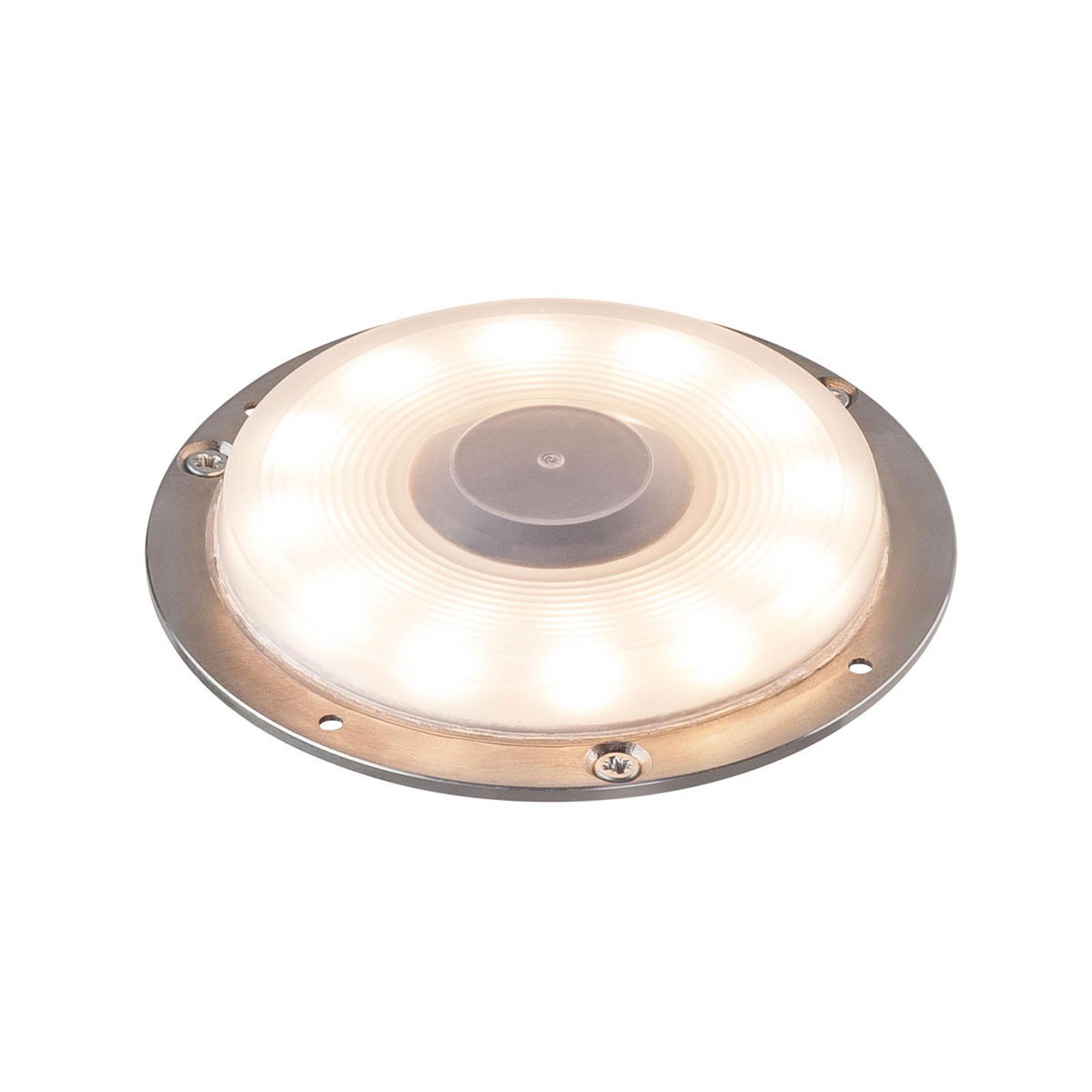 SLV Big Plot LED-bakkespot, aluminium