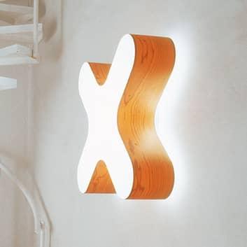 LZF X-Club LED wandlamp 0-10V dimbaar, fineer
