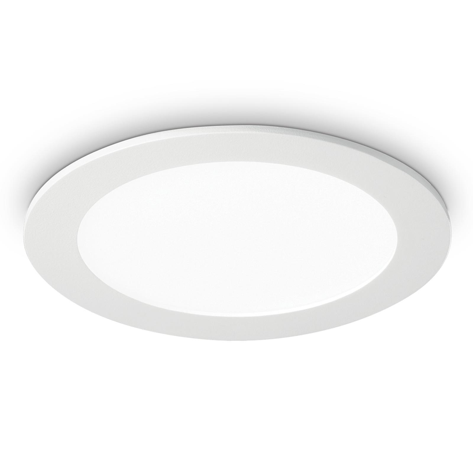 LED-Deckeneinbauleuchte Groove round 3.000K 22,7cm