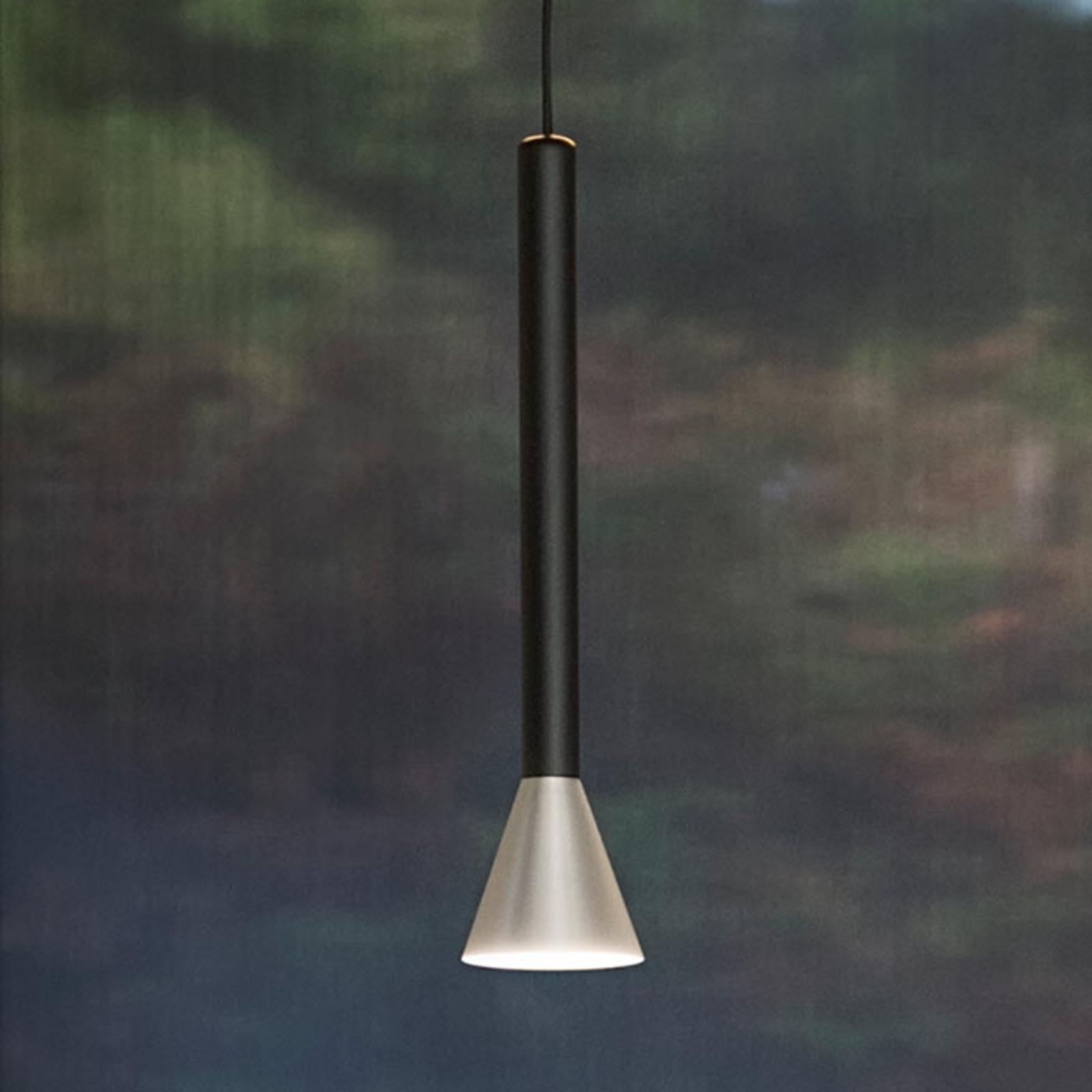 LED-Hängeleuchte Danka mit 60° Abstrahlwinkel