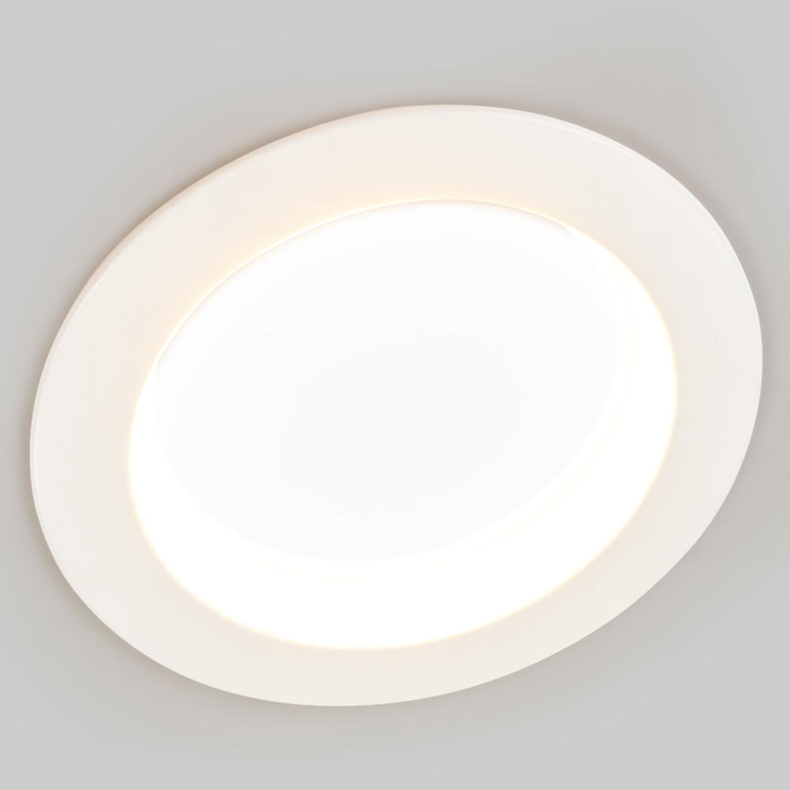 27 W LED recessed light Piet, 3,000K 4,000K 6,000K_9978036_1