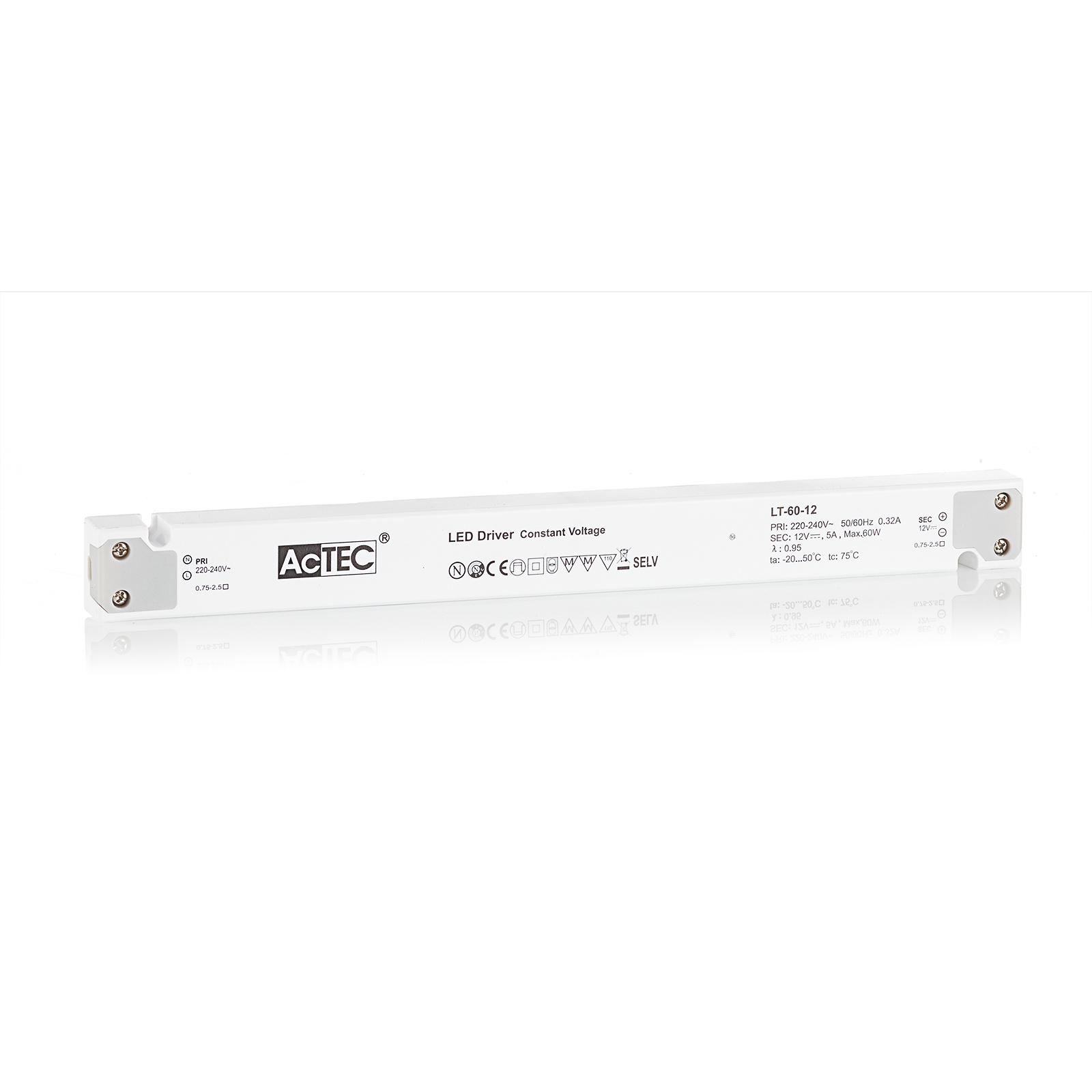 AcTEC LT LED-driver CV 12 V, 60 W