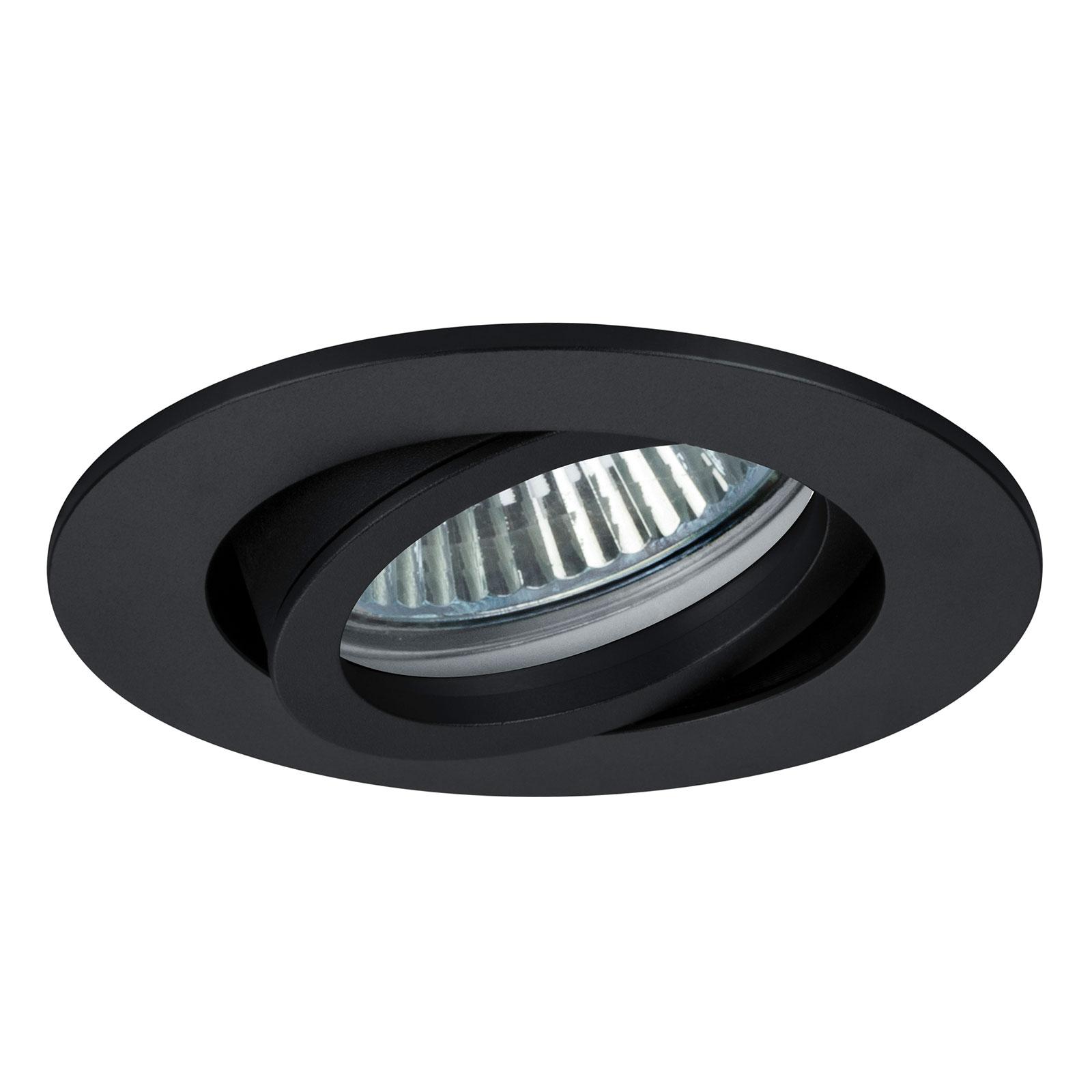 BRUMBERG 0063 Decken-Einbaustrahler, rund, schwarz