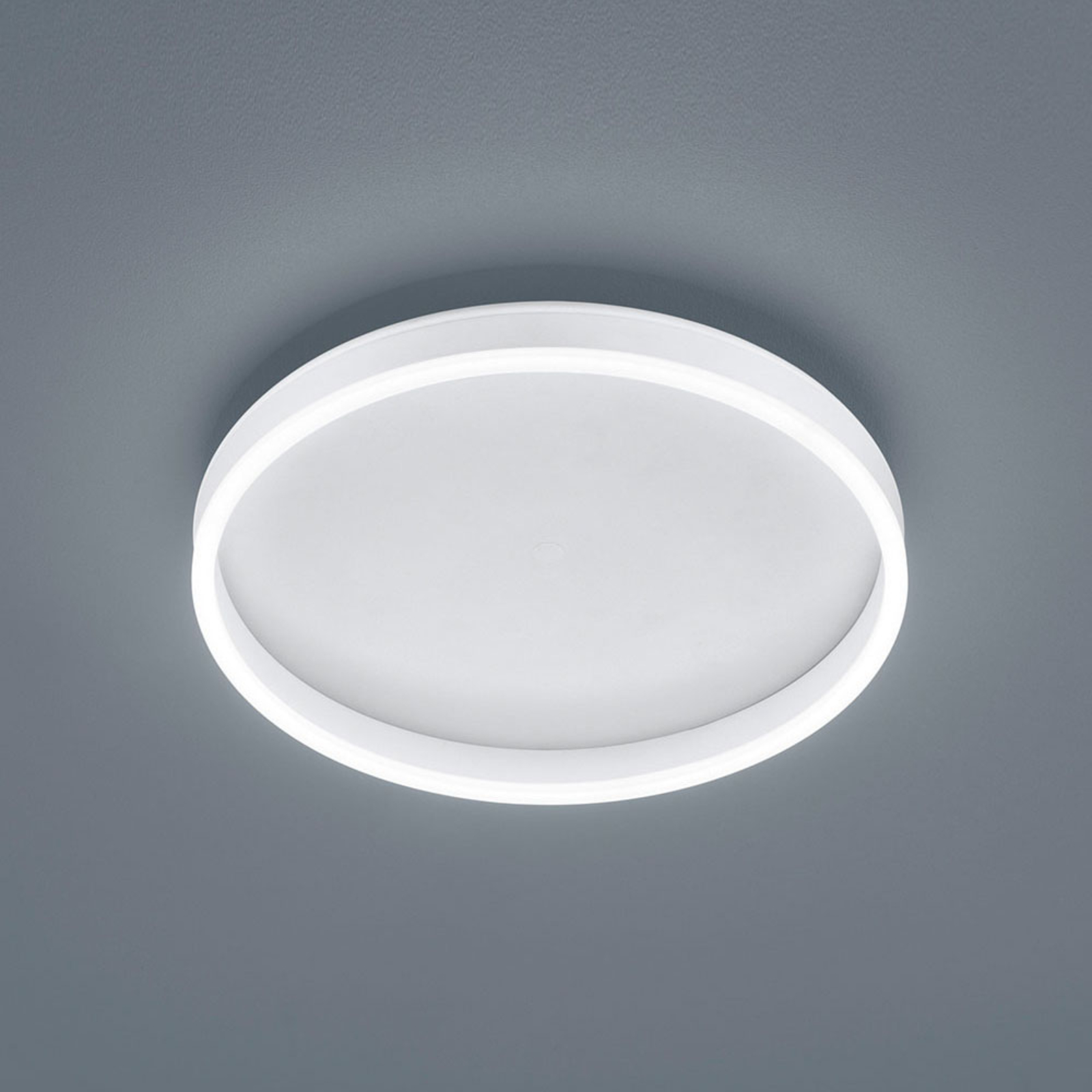 Helestra Sona lampa sufitowa LED Ø40cm biała