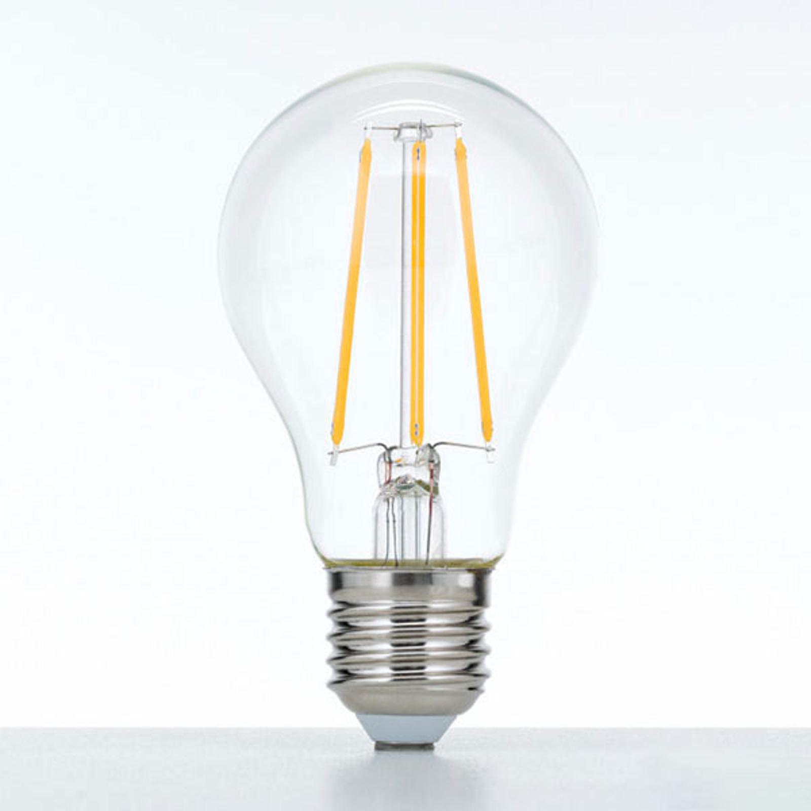 Ampoule LED E27 10W 2700K filament dimmable