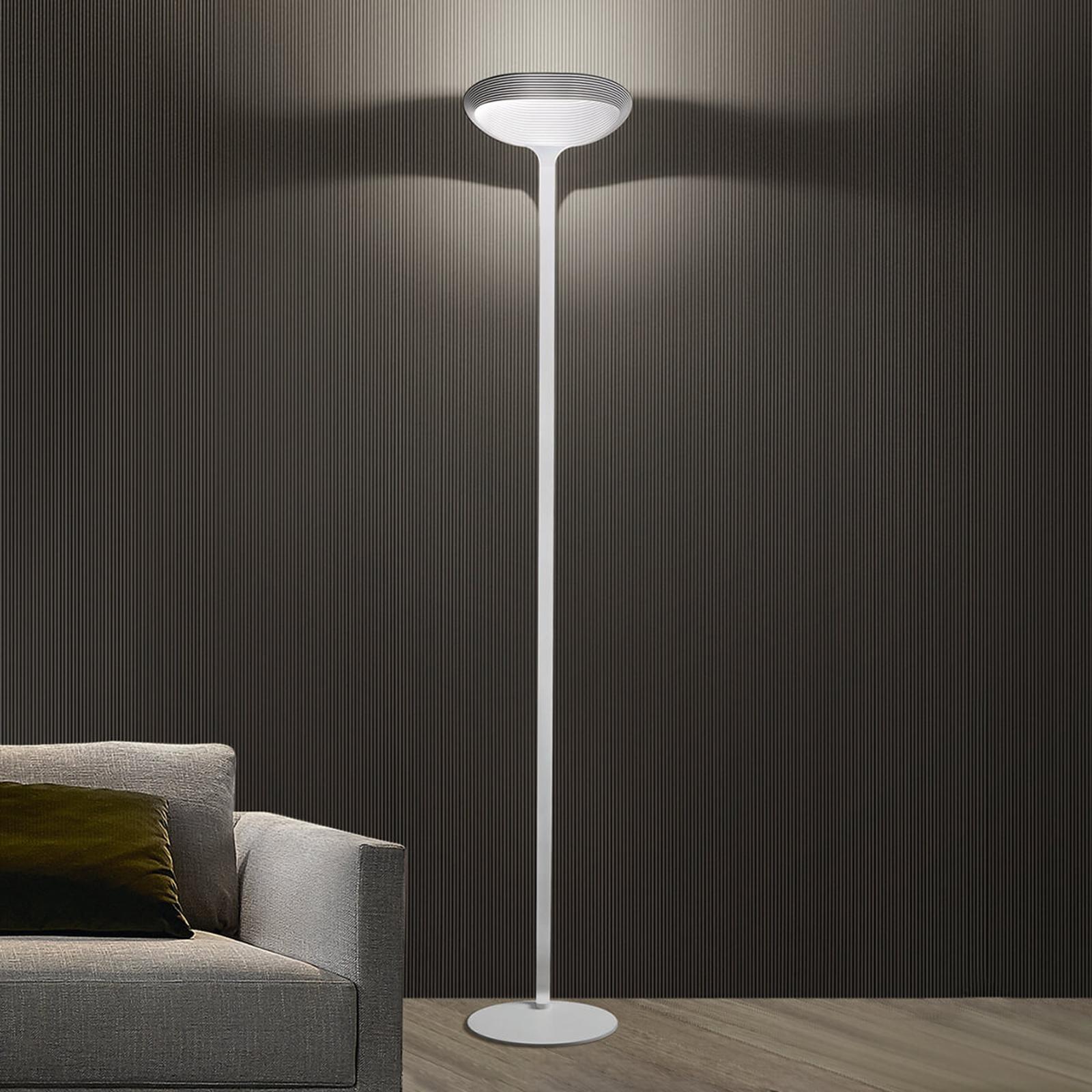 Lampa stojąca Sestessa Terra, ściemniacz nożny