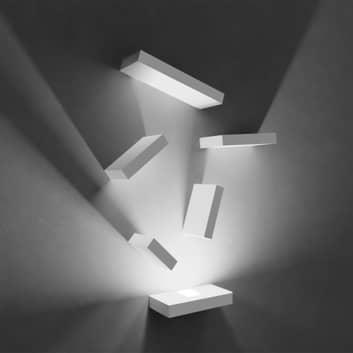 Vibia Set LED-vegglampe stor, 6 deler mink matt