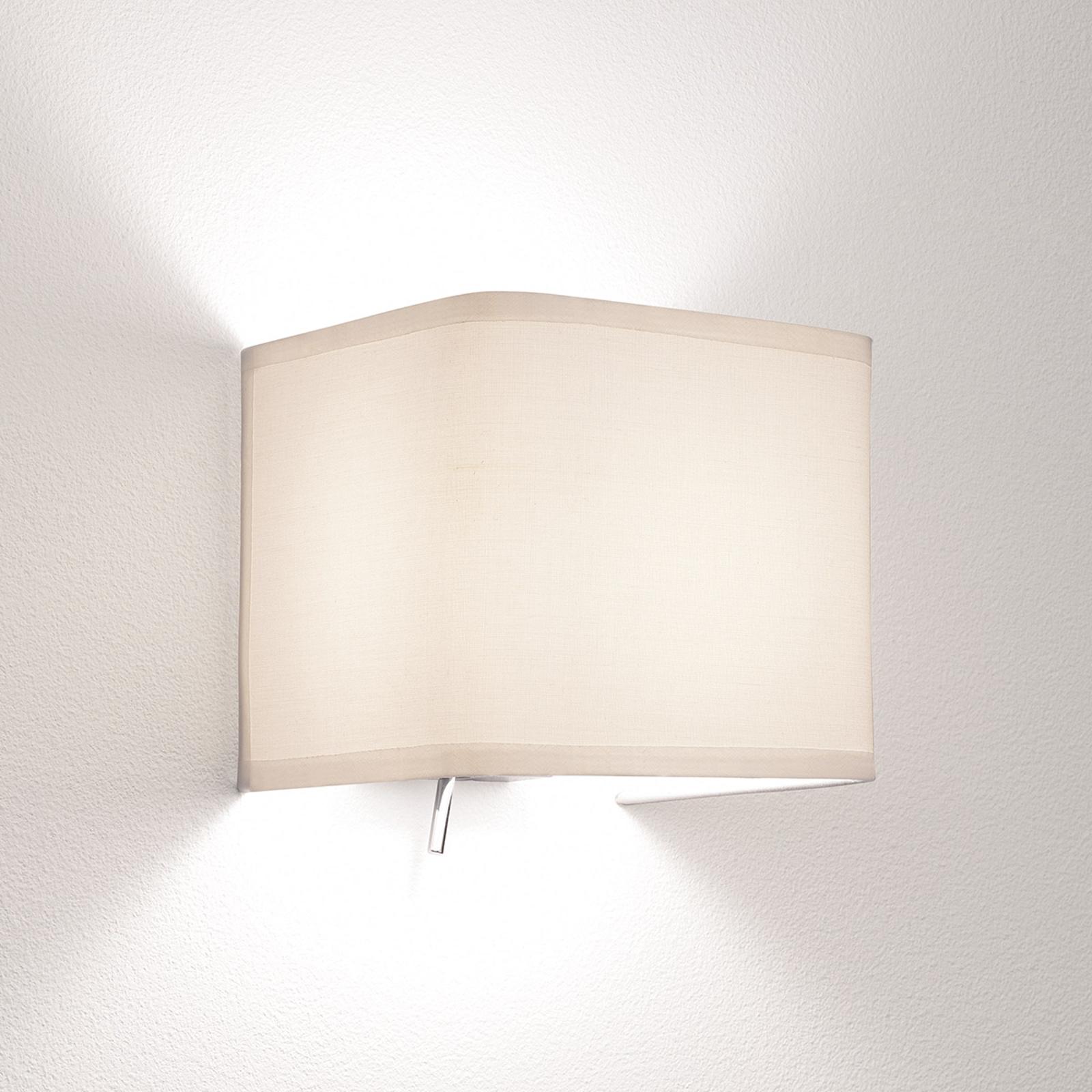 Astro Ashino Wide – nástěnné světlo, bílá, 13,5cm