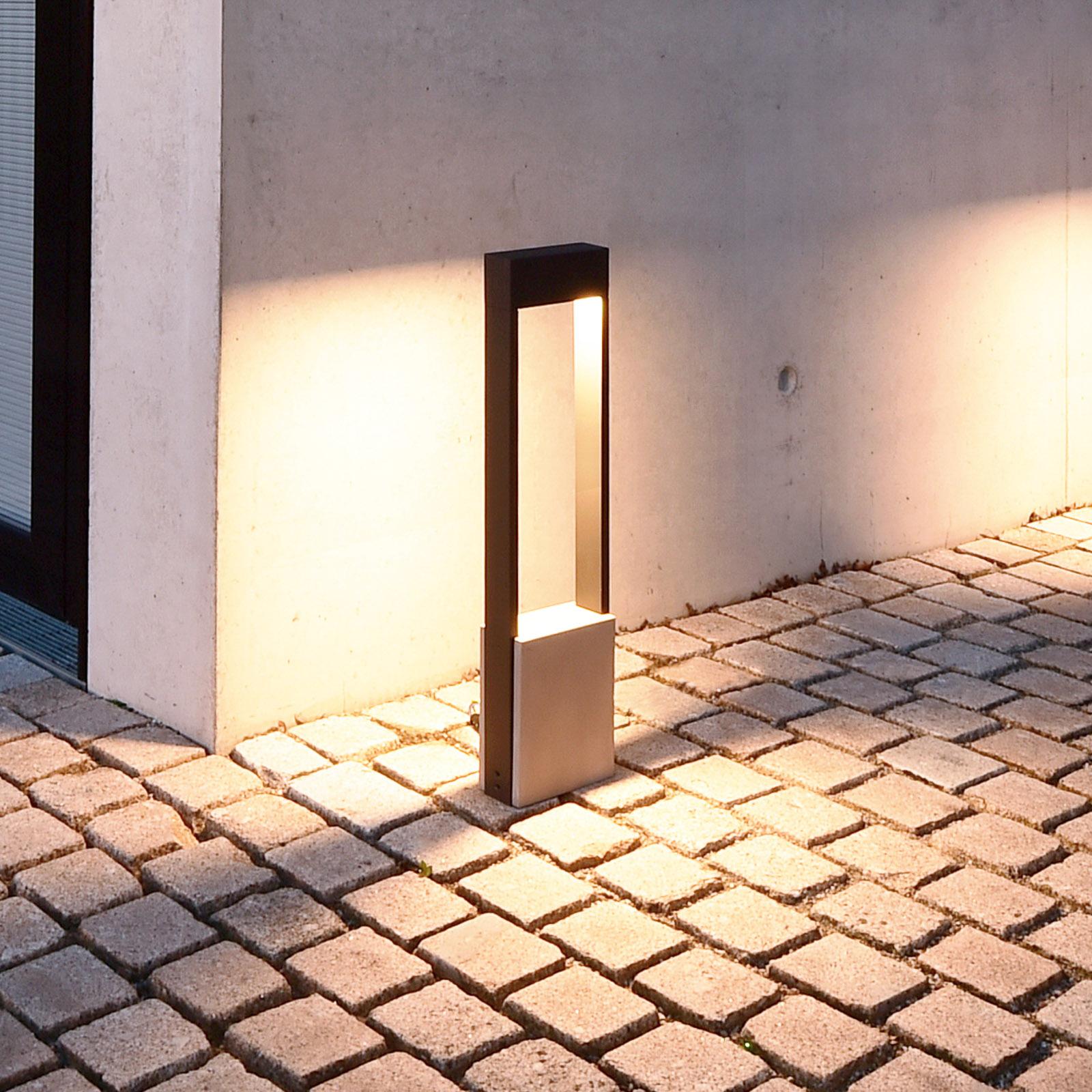 Słupek ogrodowy LED Chertan, wysokość 100 cm