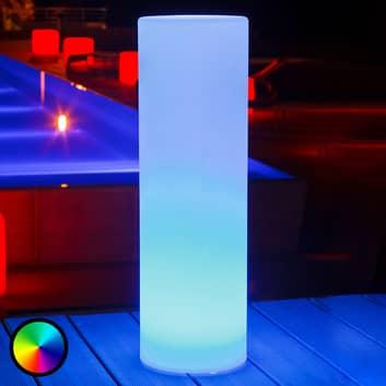 Tower - lámpara decorativa LED, control aplicación