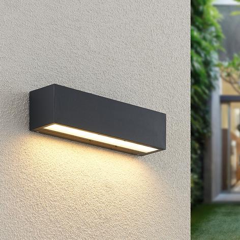 24cm LED Lampada esterno//Lampada Muro Acciaio Inox Antracite H illuminazione di facciata continua